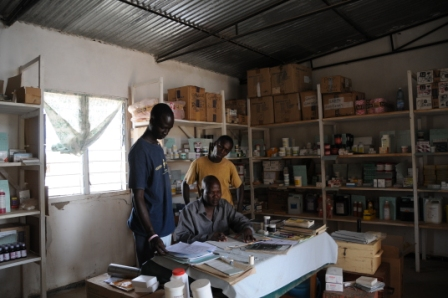 Dispensary at Nariokotome - always saving lives