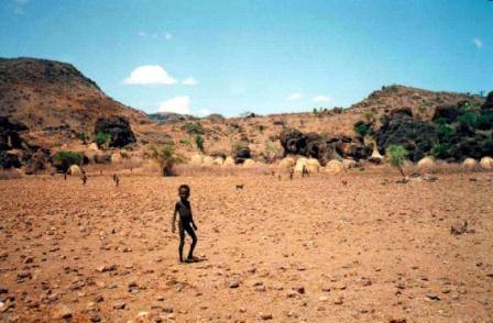 Camino a Kibish, Turkana, Kenia, 1999