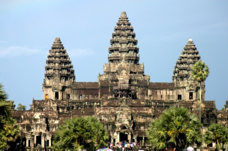 Angkor Wat towers
