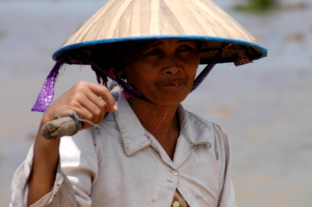 Cambodian peasant