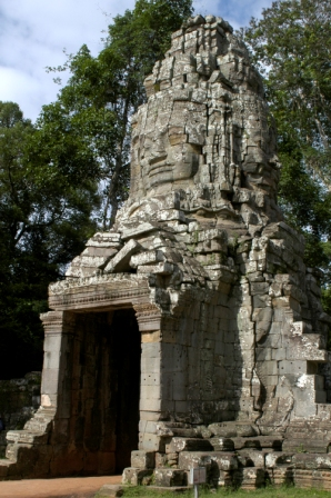 Entrance to the Ta Prohm temple