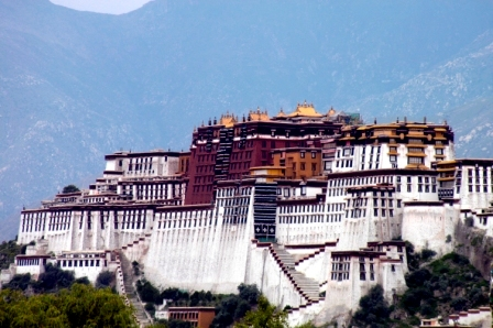The Potala Palace... simply breathtaking