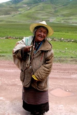 Tibetan peasant