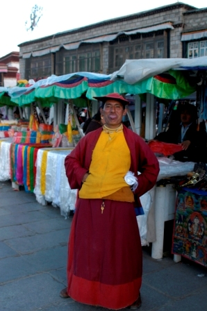 Monk from the Red Hats school