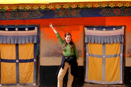 Lhasa, Tibet, 2004. Silly? Yes, probably...