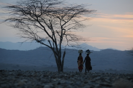 Turkana women in Nariokotome