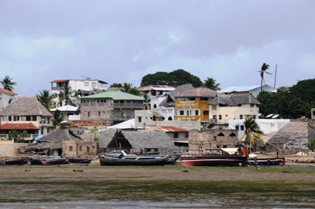 Lamu Town at the seafront