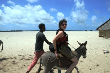 Lamu, Kenya, 2009. I know, poor donkey...