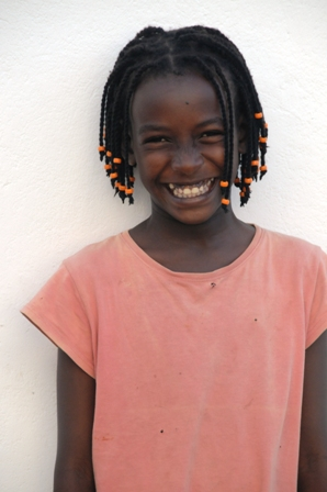 "Mary Gitau, ""my Mary"", who is 11 and loves dancing. Her friends call her Mary Shakira"