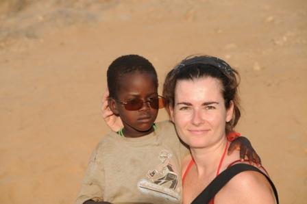 Turkana, 2009. Making friends...