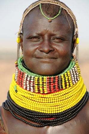 Turkana woman