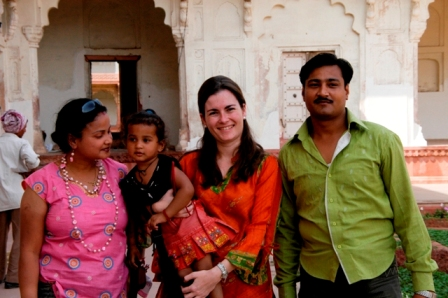 Agra, India, 2008. So white skinned that everywhere I find people who want to take pictures with me... What? I thought I was the photographer looking for nice portraits!