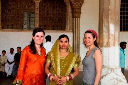 Agra, India, 2008. Beautiful lady!